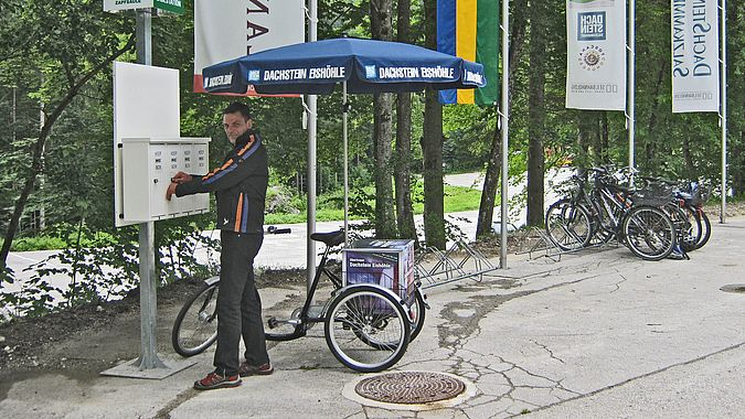 E Bike charging station | Dachstein Krippenstein