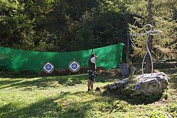 Archery on the Schönbergalm