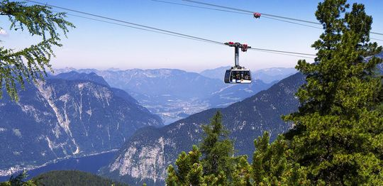 Dachstein Krippenstein cable cars