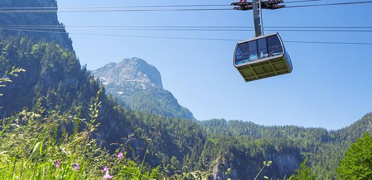 [Translate to English:] Dachstein Krippenstein Seilbahn